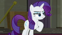 "Rarity ""I'll focus on the designs"" S6E9"