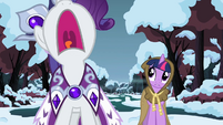 Rarity screaming S2E11
