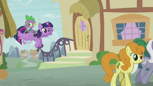 File:Twilight and Spike return to Ponyville S5E25.png