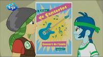 Rainbow Rocks CHS Musical Showcase Advertisement - French