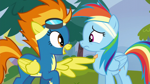 "File:Spitfire ""you're supposed to be a Wonderbolt"" S6E7.png"