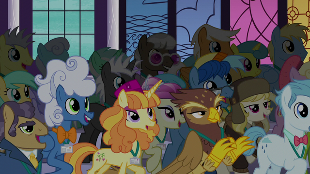 File:Summit delegates cheer for Twilight S5E10.png