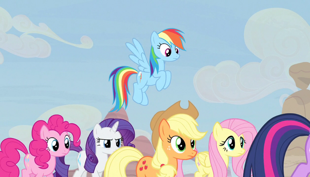 File:Twilight's friends follow her S5E1.png