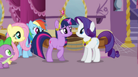 Twilight worried about Pinkie Pie S03E13