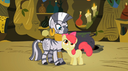 Zecora and Apple Bloom S2E06
