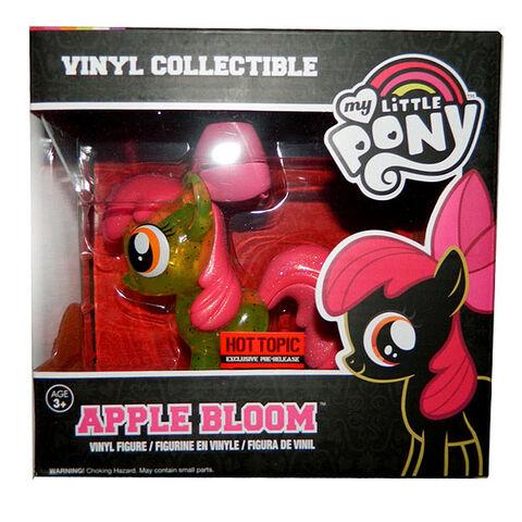 File:Funko Apple Bloom glitter vinyl figurine packaging.jpg