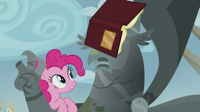 "File:Pinkie ""It's sad what happened to your town, King"" S5E8.png"