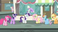 Rarity 'The dresses are all completely finished' S4E08