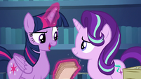 "Twilight ""our trip to the Crystal Empire"" S6E1"