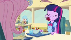 Twilight eating like a pony EG.png