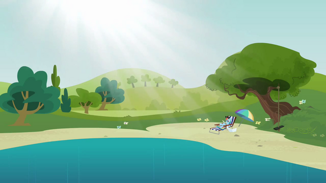 File:Rainbow Dash at the water hole S3E3.png