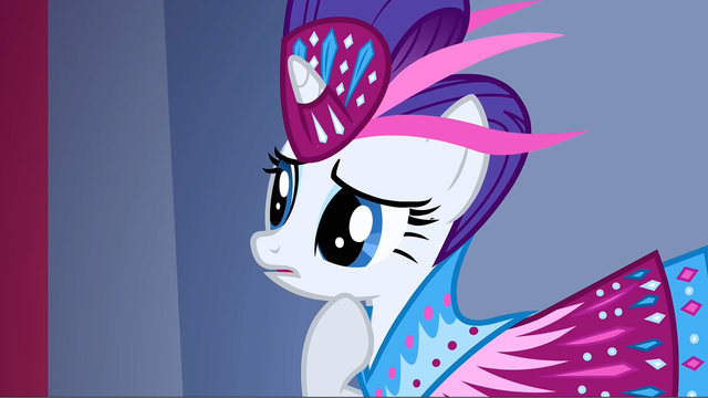 File:Rarity sees Fluttershy as she walks S1E20.png