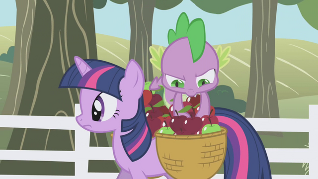 File:Spike digging deep in the basket S01E03.png