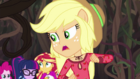 Applejack calling out to Rarity EG4