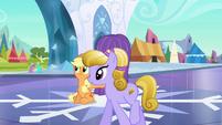 Applejack hiding crystal S3E2