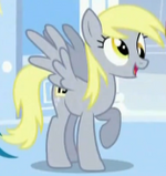 Derpy in competition S1E16