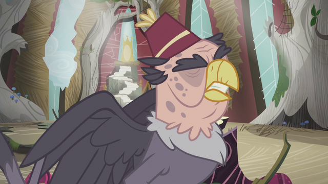 """File:Gruff """"and we all lived miserably ever after"""" S5E8.png"""