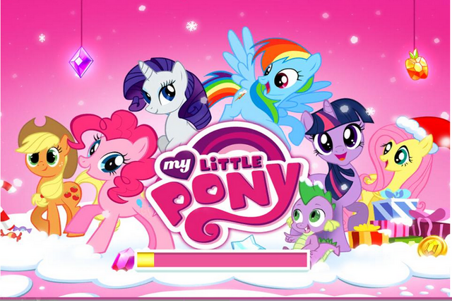 File:MLP mobile game Hearth's Warming Eve loading screen.png