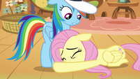 Rainbow Dash said can't S2E22