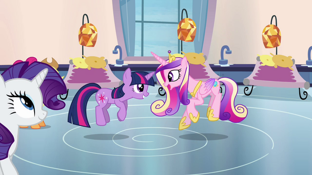 File:Twilight and Cadance ladybug dance S03E12.png