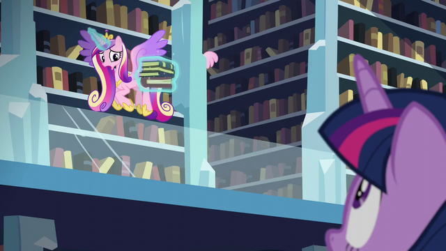 "File:Cadance ""Not yet!"" S6E2.png"