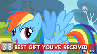 "Hot Minute with Rainbow Dash ""my wings, of course"""