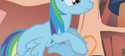 Rainbow Dash broken leg S01E09