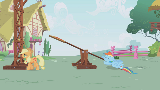 File:Rainbow Dash thuds on the ground S1E04.png