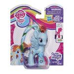Cutie Mark Magic Rainbow Dash doll with ribbon packaging
