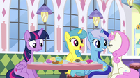 "Lemon ""Anypony up for a blast from the past"" S5E12"