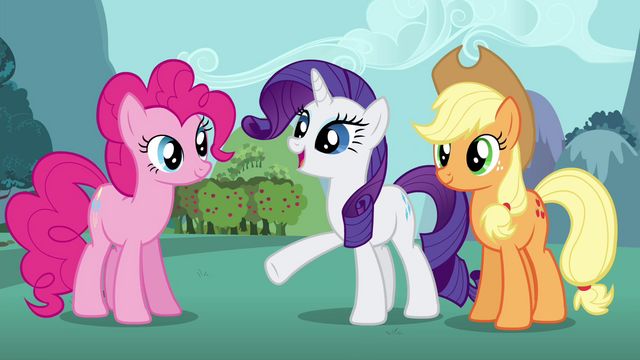 "File:Rarity ""design you a special hero's gown"" S4E16.png"