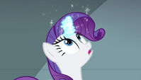 Rarity has her magic sealed S4E24