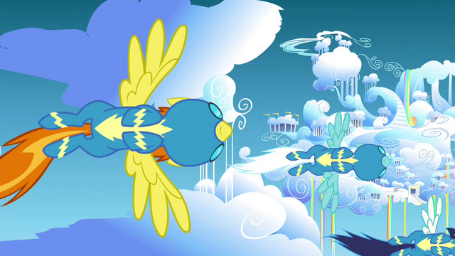 File:Wonderbolts flying down to Cloudsdale S4E26.png