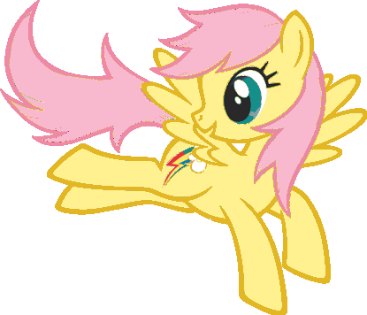 File:FANMADE Rainbow Dash Fluttershy pallette swap by Mewkat14.png