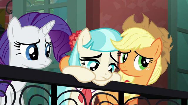 File:Applejack and Rarity unsure S5E16.png