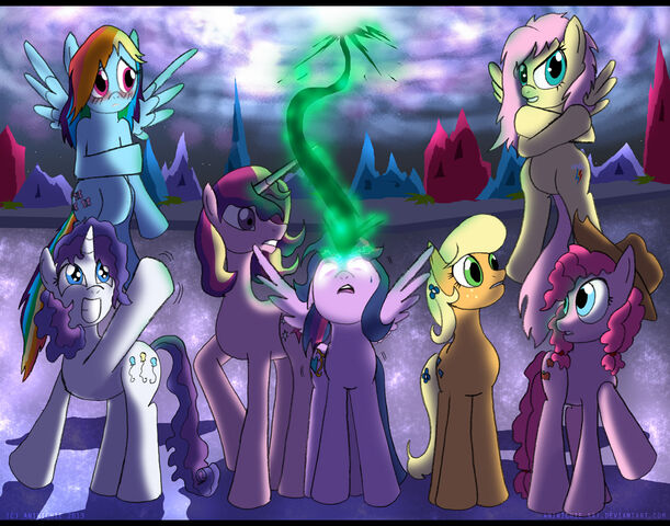 File:FANMADE MLP - Roles Reversed by AniRichie-Art.jpg