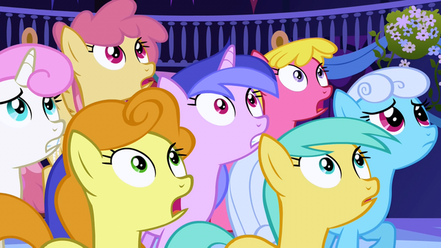 File:Ponies staring at Nightmare Moon S1E01.png