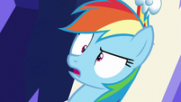 "Rainbow Dash appalled ""lazy?!"" S6E15"