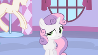 Sweetie Belle confused S1E17