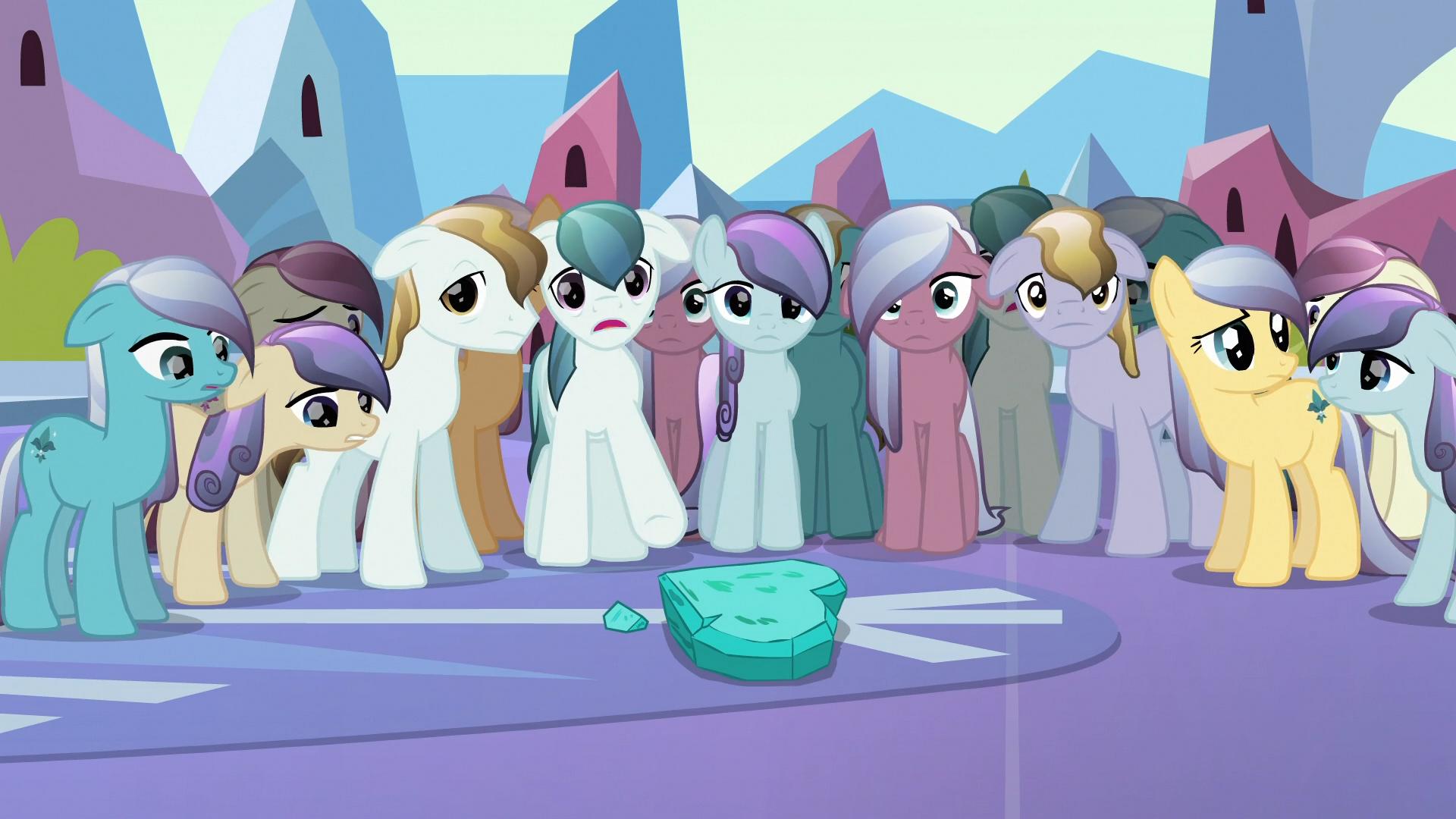 Ponis de Cristal  My Little Pony La Magia de la Amistad Wiki