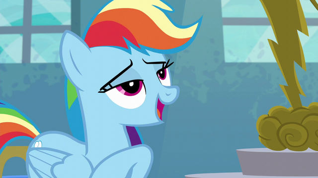 "File:Rainbow Dash ""Forthright Filly"" S6E7.png"