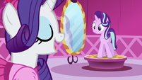 "Rarity ""three weeks"" S6E6"