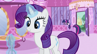 Rarity with scissor S2E03