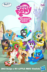 SDCC 2012 pony design finalists poster
