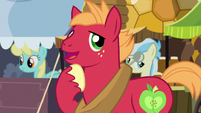 "Big McIntosh ""just tellin' Cousin Braeburn last week"" S6E23"
