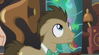 Dr. Hooves sees Derpy above S5E9