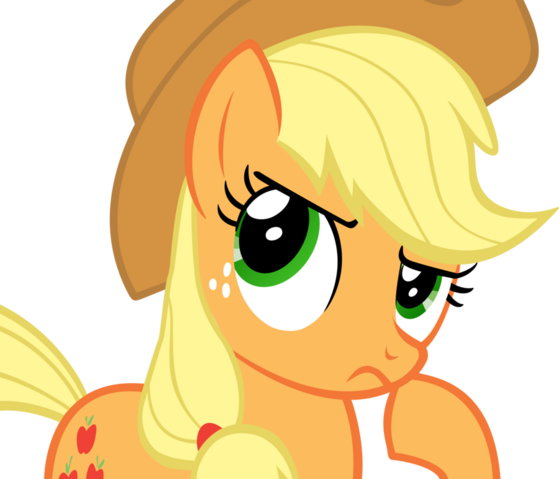 File:FANMADE Applejack hmm nah by flamp1.png
