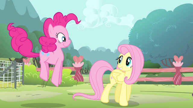 File:Fluttershy walking and Pinkie hopping S4E14.png
