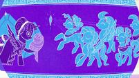 Vase illustration of an Empire foal reveal S6E1