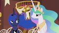 "Celestia ""next time you can just bring your own gift"" S5E9.png"